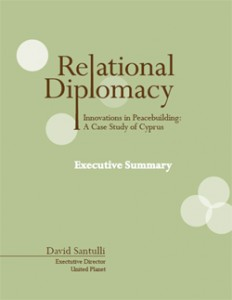 "Cover of Executive Summary of ""Relational Diplomacy"""